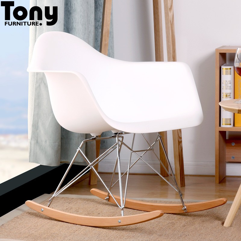 Classic living room furniture rocking plastic chair buy for Classic furniture products vadodara