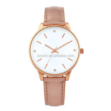 Beautiful lady watch with rose gold strap and rose gold case in Japanese quality