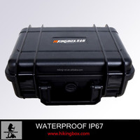High impact ABS watertight plastic equipment case for Police Investigating
