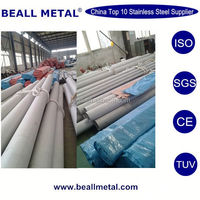 TP201/1.4372 ASTM A312 standard stainless steel cold drawn annealing seamless pipes
