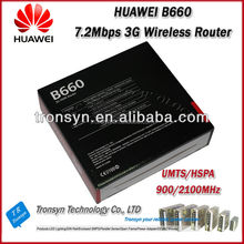 New Original Unlock HADPS 7.2Mbps 3G Wifi Router With Sim Card Slot Support HSPA/WCDMA 2100/900MHz For Huawei B660