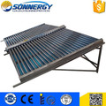 Split solar thermal system collector with SRCC