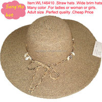 color sombrero woman straw hat wholesale