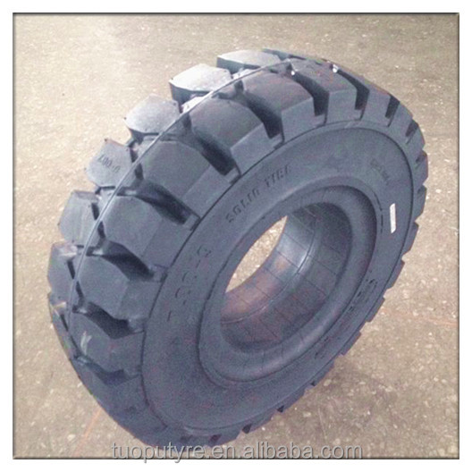 non-marking forklift truck solid wheel tire 7.00-9