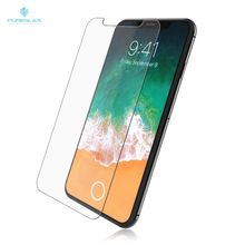 9H Hardness fingerprint resistant explosion proof Tempered Glass Screen Protector For iPhone X