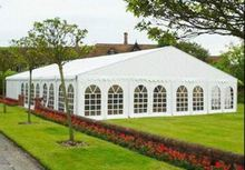 Clear span waterproof transparent wedding party tent design