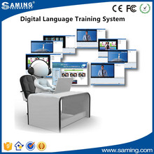 Digital Language Training System for PC/ laptops and wire & wireless internet environment