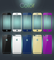9H Hardness 0.33MM 2.5D Mirror Tempered Glass, Tempered Glass Protector for Iphone 6 Screen