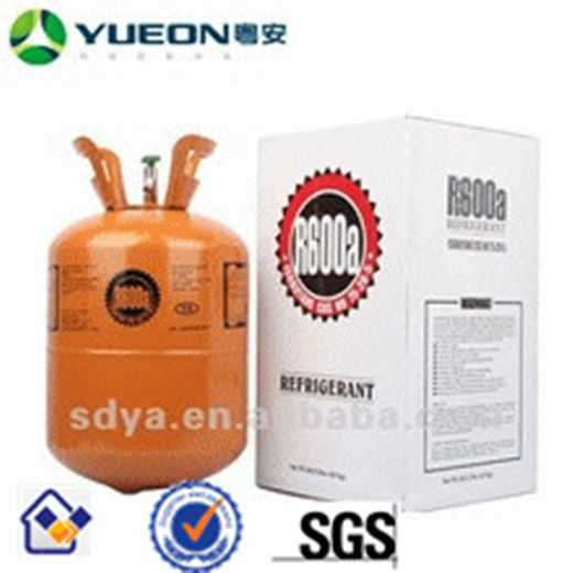 Shandong Yuean Chemical Industry Co., Ltd Refrigerants Factory R600a gas Disposable Recyclable Cylinder ISO TANK