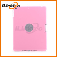 "360 degree rotation Bluetooth Keyboard case pink 10"" tablet case keyboard for ipad 5 ipad air"