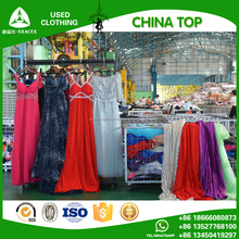 Stock Bales 100Kg Modern Second Hand Evening Dress Korea Used Clothing For Sale