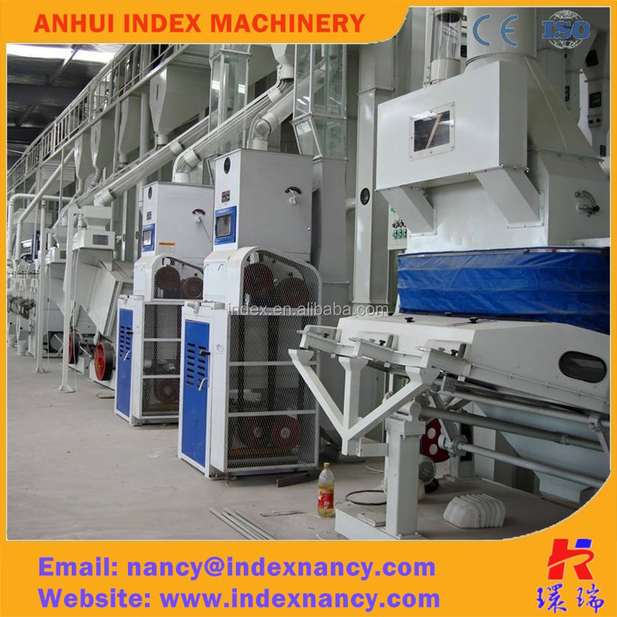 50-180TPD Integrated combined rice mill equipment for rice milling plant