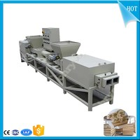 Germany technical four head wood chopping block|stab wood block|15mm wood block board machine
