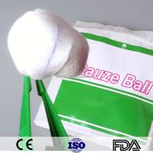 China Supplier Absorbent Cotton Peanut Gauze Balls