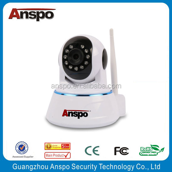 Anspo WiFi Network Mini Rotatable Smart Security system maginon ip camera