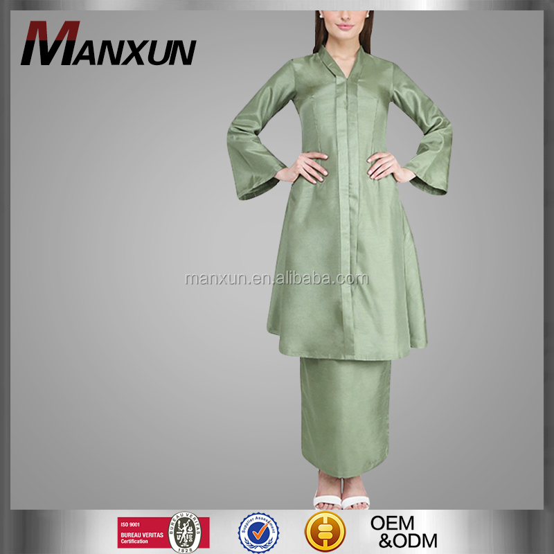 2016 Latest Fashion Original Design Baju Kurung And Baju Melayu With Kebaya