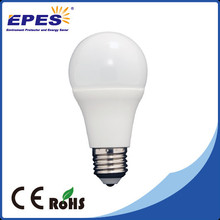 CE ROHS ERP SMD 7w led light bulb, A60 180 degree e27 b22 led bulbs