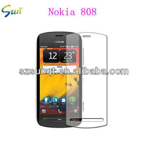 Hot new ultra clear screen protector for nokia 808