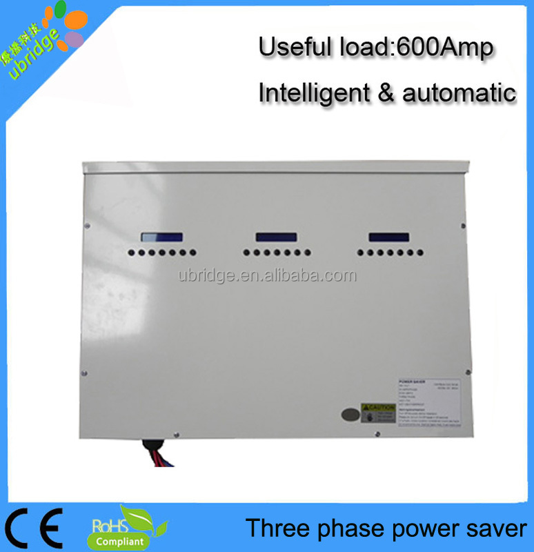 Full automatic power saver two phase energy saver device for commercial