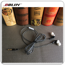 Fashion Design Abs Earlap Phone Earbuds With Mic For Smartphone