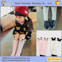 100% cotton lovely babys cartoon mouse knee high socks