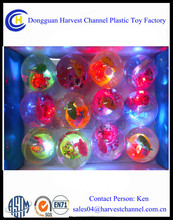 5cm bouncing Ball with Flashing Light as Promotional Gift