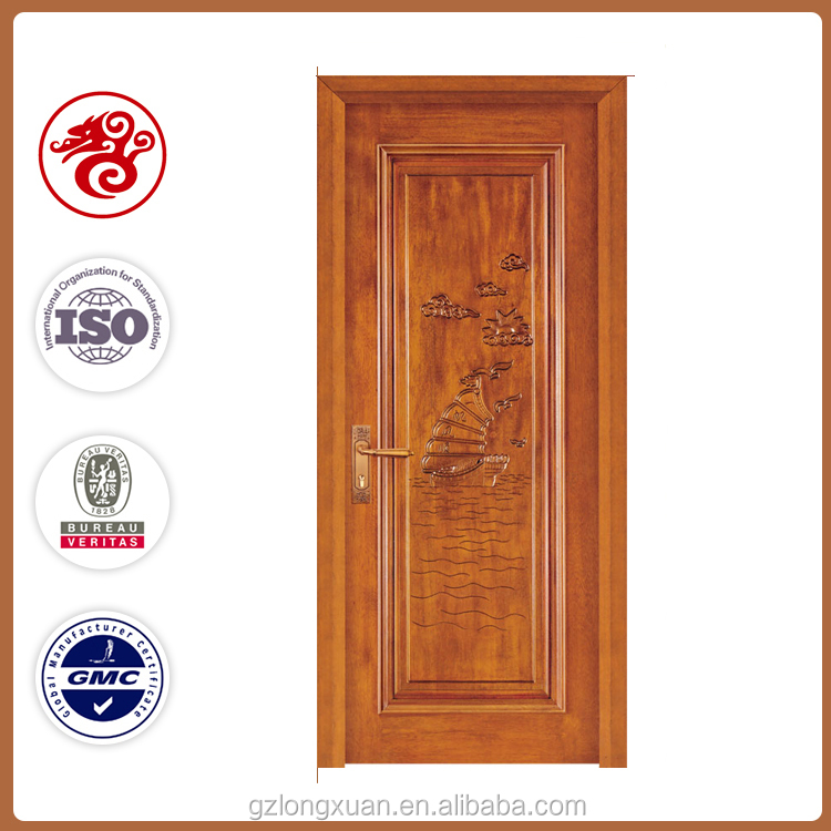 Swing hand carved entry wooden doors