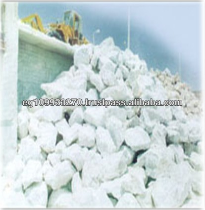 High Quality Egypt Lump Shaped White Natural Gypsum Ore