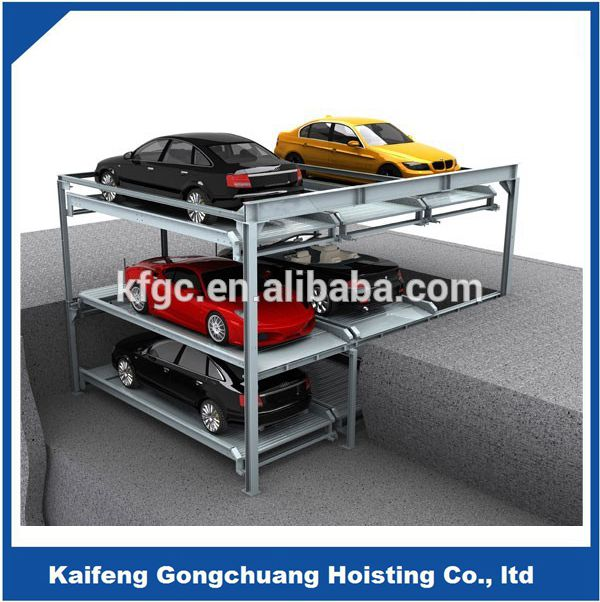 underground multi level parking lift vehicle garage
