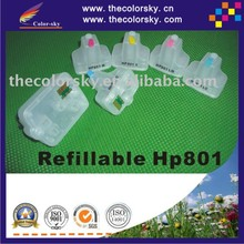 (RCH801) HP801 refillable ink cartridge for HP 801 Photosmart 8238 / 8250 / 8188 / 7288 / 6188 / 5188 (with ARC chip)
