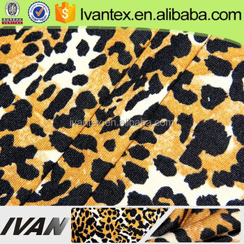 IVAN TEXTILE Hot Sale Knitting Custom Brushed Print Flannel Fabric For Garment