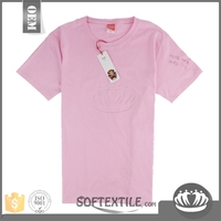 softextile china wholesale factory price excellent promotional white t shirt 120 gsm