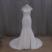 Lace modern embellishments evening gowns for wedding made to order wedding dresses china
