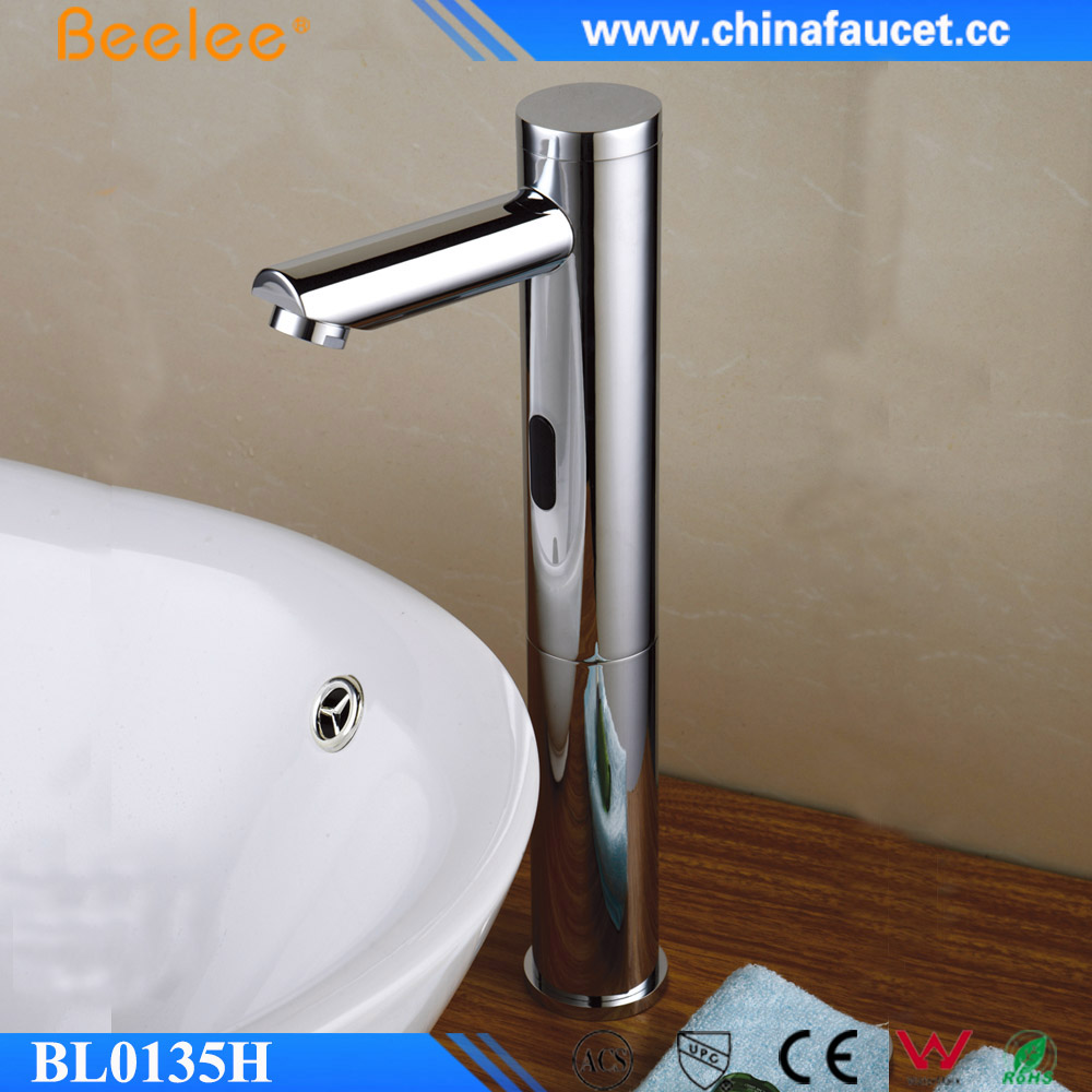 Bathroom Contemporary Basin Sensor Faucet Public Hotel Infrared Faucet
