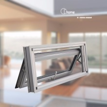 Top supplier Echome construction double glazed mill finish aluminum window