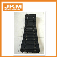 Agriculture vehicle crawler rubber track,rubber track vehicle,small snowmobile rubber tracks