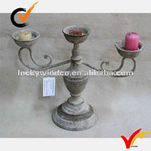 traditional durable metal christmas candle holder