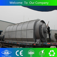 CE certificate High Quality used tire recycling machine to oil