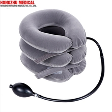 Neck cervical therapy equipment home use inflatable cervical collar soft neck traction device