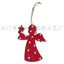 wood hanging Christmas Decorations/Wooden Christmas decoration/ornament(wooden craftswood art in laser-cutting&engraving)