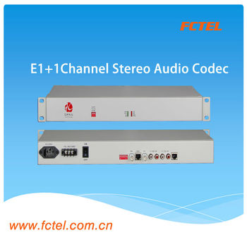 E1+1Channel Stereo Audio Codec ic