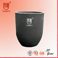 High quality clay graphite crucible pot for metal melting/copper/brass