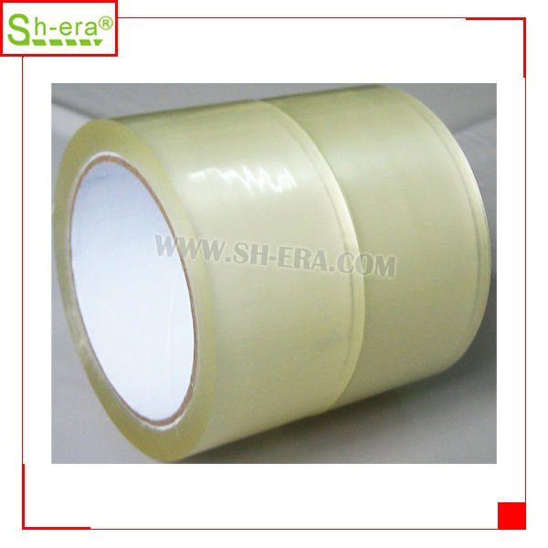 Manufacturer Custom Printed Clear transparent bopp adhesive tape jumbo roll packing tape