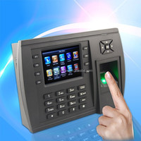 Fingerprint Recognition Time recorder with Webserver or AMDS