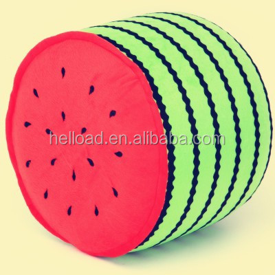 best price inflatable plastic green watermelon cartoon chair