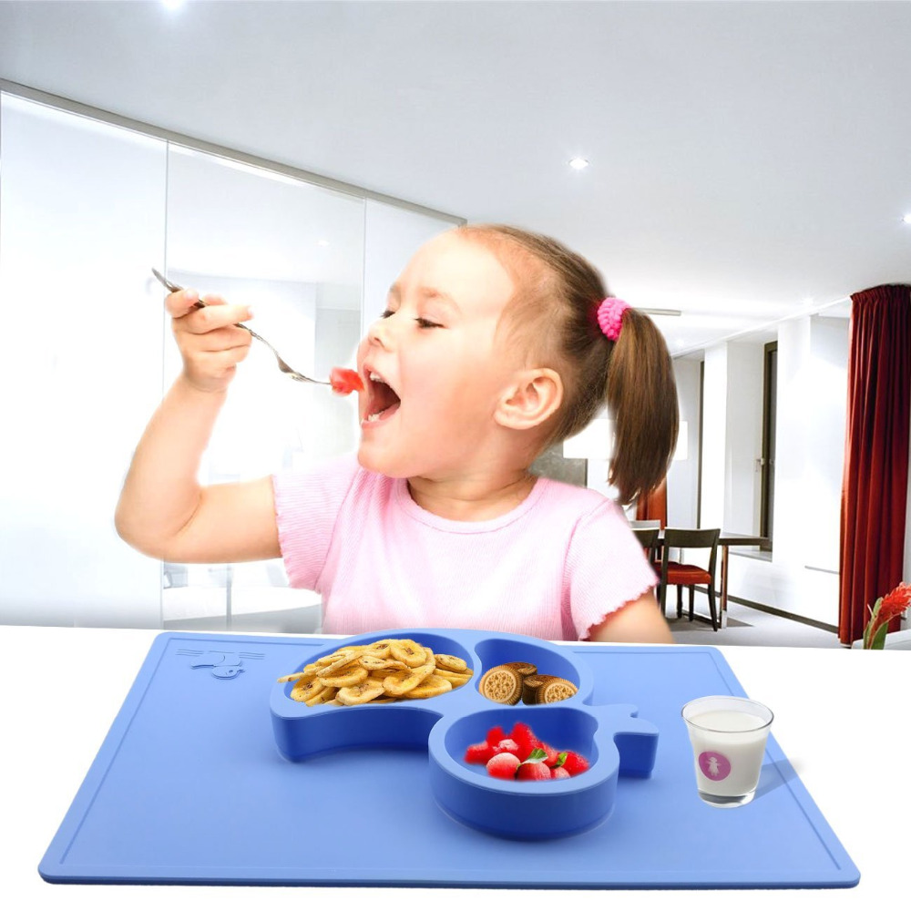 2017 new products unique silicone disposable baby placemat