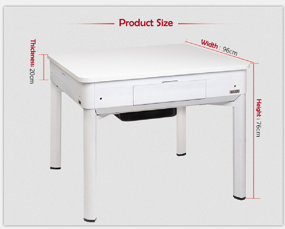 Dual Use Automatic Mahjong Table And Dining Table Dual