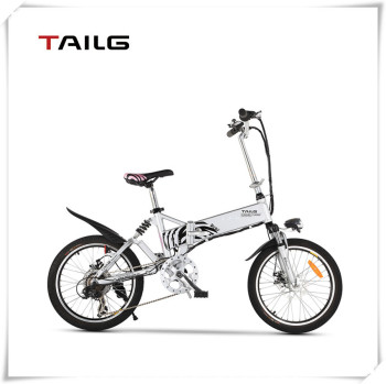 Hide lithium battery powerful Folding Electric Bicycle