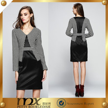 Formal business patchwork new model dress 2014