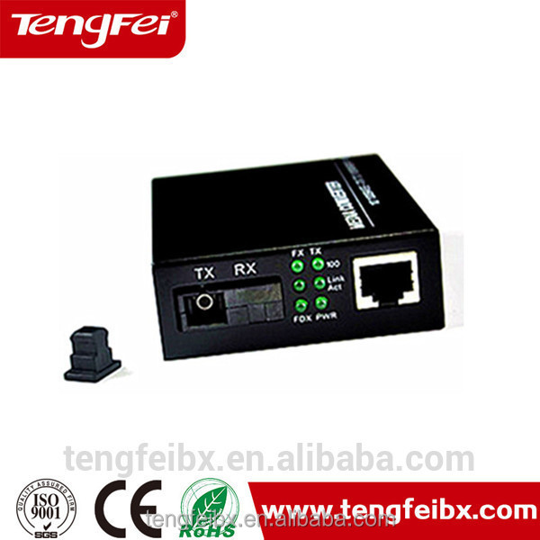 10/100Mbps POE fiber optical media Ethernet converter with 8 POE RJ45 port connector POE switch single fiber single mode network
